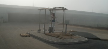 FILLING STATION FOR COMPRESSED NATURAL GAS (CNG)