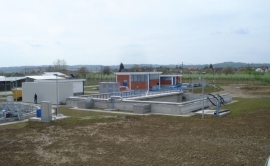 Design, Reconstruction and working of the Waste Water Treatment Plant for Odžak town